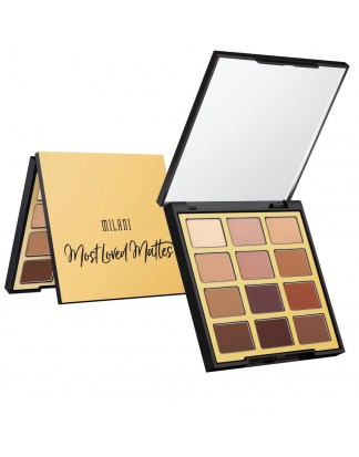 MOST LOVED MATTES PALETA 12 CIENI