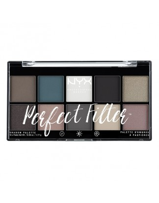 Paleta cieni do powiek Perfect Filter Shadow Palette - Gloomy Days
