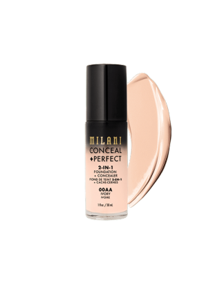CONCEAL + PERFECT 2-IN-1 FOUNDATION + CONCEALER - SAND IVORY