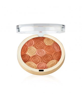 Róż, bronzer i rozświetlacz Illuminating Face Powder - 02 Hermosa Rose
