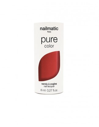 Organiczny lakier do paznokci - PURE COLOR - AMOUR - Red Shimmer
