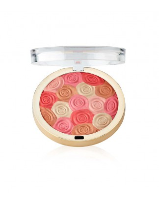 Róż, bronzer i rozświetlacz Illuminating Face Powder - 03 Beauty's Touch