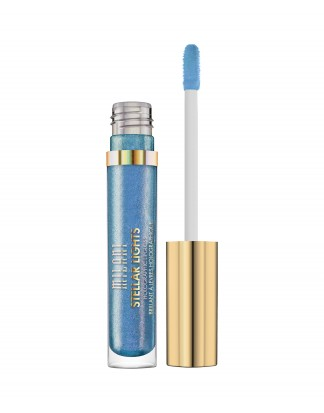 STELLAR LIGHTS HOLOGRAPHIC LIP GLOSS-IRIDESCENT BLUE