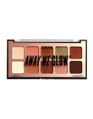 Away We Glow Eye Shadow Palette - Hooked On Glow