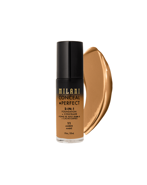 Conceal & Perfect Liquid Foundation - 11 Amber